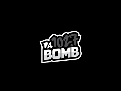 1027 da bomb illustration logo hawaii radio dabomb 1027