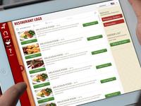 iPad Menu for Restaurants
