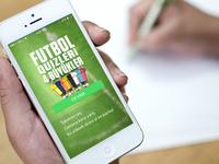 Futbol Quizleri iOS App UI