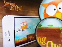 Saving jr. Owl iPhone Game UI
