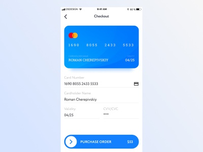 Credit Card Checkout 100 daily ui daily dailui checkout card checkout payment card ux dribbble design creative colorful clean ui app