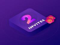 2more Invites