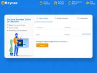 Roynac - Supplier Registration Steps