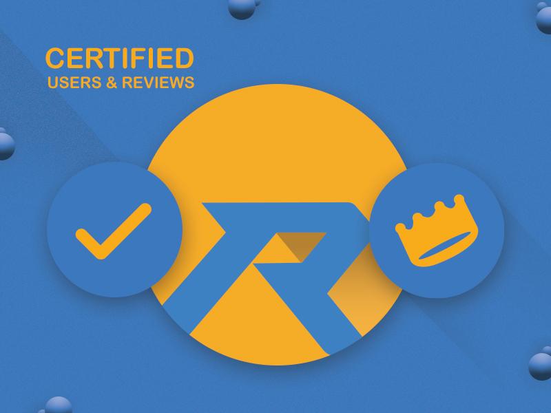 cerified Roynac marketing branding icons logo certification