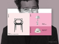 Product page - Philippe Starck design