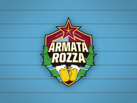 Football Team Logo Armata Rozza