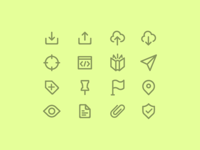 Rounded Line Icons