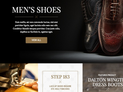 Category Page - Men's Shoes