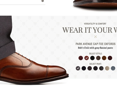 Product Detail Page - Wear it Your Way