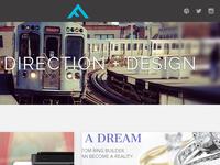 2013 Portfolio Redesign - Home