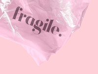 FRAGILE // Please handle with care <3