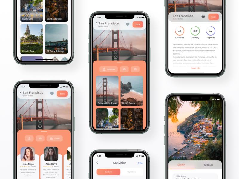 City Recommendation Concept App