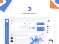 Dashboard Elements Component Library