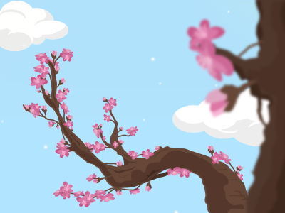 Sweety spring bear illustration spring sweety