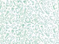 A little food pattern