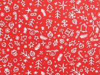 Christmas Hand Pattern