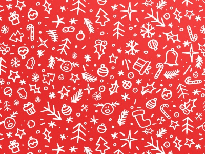 Christmas Hand Pattern illustration draw hand pattern christmas