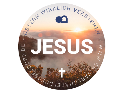 badge for easter campaign 2016 2016 icon jesus easter round badge