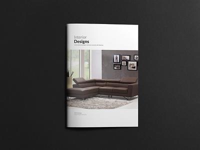 Interior Brochure Template printdesign design layout interior templates minimal magazine editorial brochure