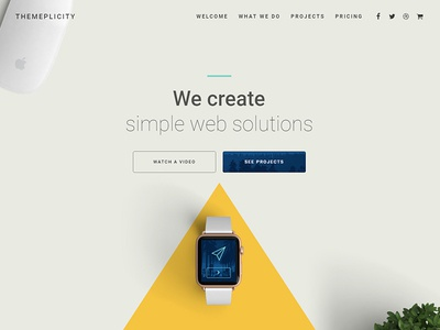 Themeplicity WordPress One-Pager