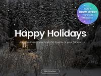 Snow Effect WordPress Plugin