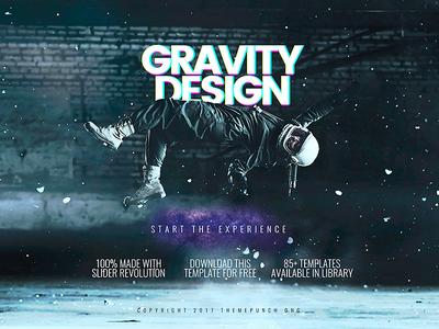 Gravity Design Parallax Scene
