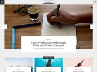 GoodNews Website Template