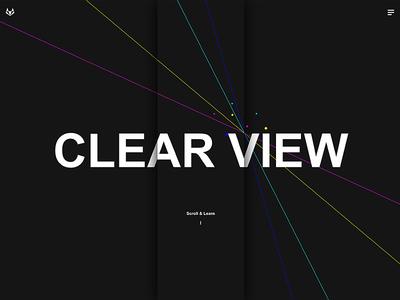 Clear View Minimal Magazine WordPress Template