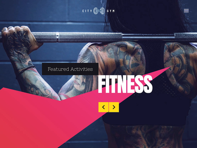 Fitness Club Template for WordPress