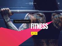 Fitness Club Template for WordPress