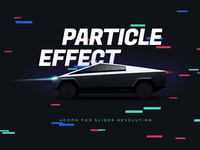 Cyber Particle Effect