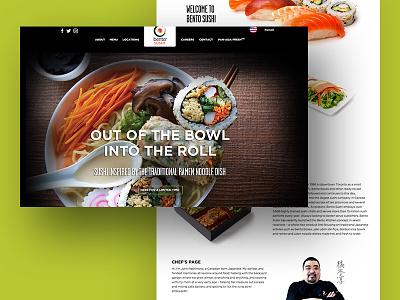 Bento Sushi ingredients recipe recipes food sushi design website