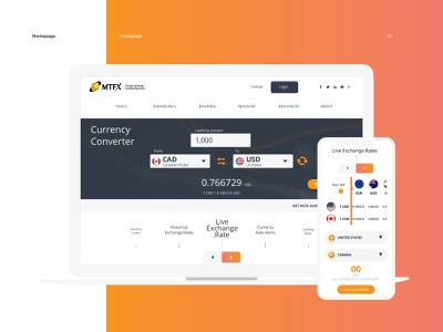 MTFX Group   Website mobile website currency rates exchange financial finance money payment global foreignexchange