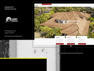 MRC Roofing Hawaii shingles construction repair roof website hawaii roofers roofing