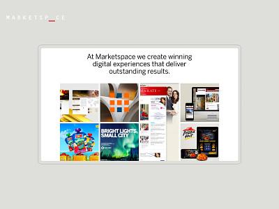 Marketspace branding toronto web design agency web design art direction