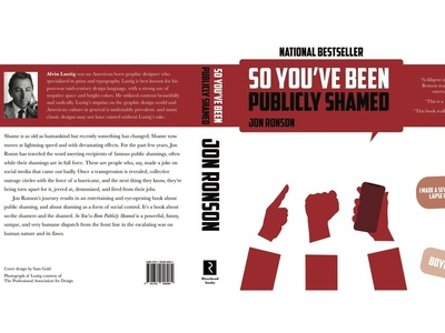 So You've Been Publicly Shamed Cover Redesign