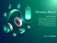 Isometric Wireless music