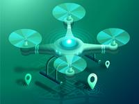 Isometric Drone