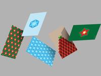 Christmas texture - cards
