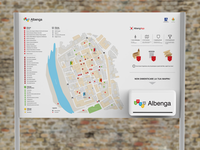 Albenga - city map