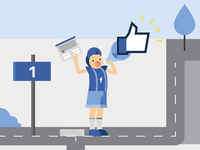 Short Facebook infographic - paperboy