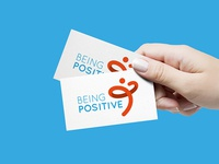 Being Positive - HIV association logo