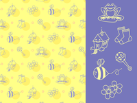 Mariette Icons and Pattern