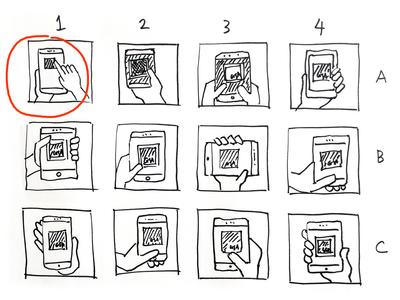 GSA On-the-Go Icon Sketches