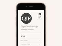 Qip Website Ideas