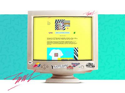 Rau_Performance Web Page gif ui  ux ui webdesign design page web www