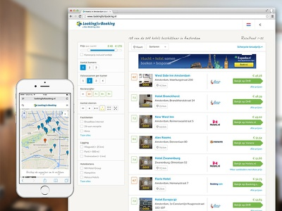Lookingforbooking Dribbble hotels hotel facilities icons button ui navigation interface typography menu map
