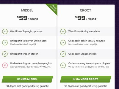 Wp Agents pricingpage