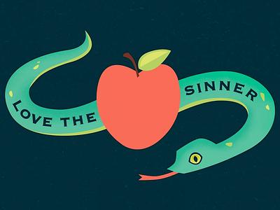Love the Sinner love the sinner apple sinner temptation snake