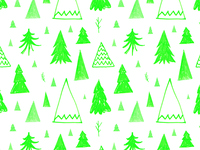 Fir Tree repeating pattern